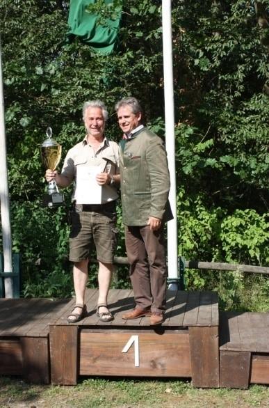 Martin Drexler (l.) mit LJV-Vizepräsident Dieter Mackenrodt